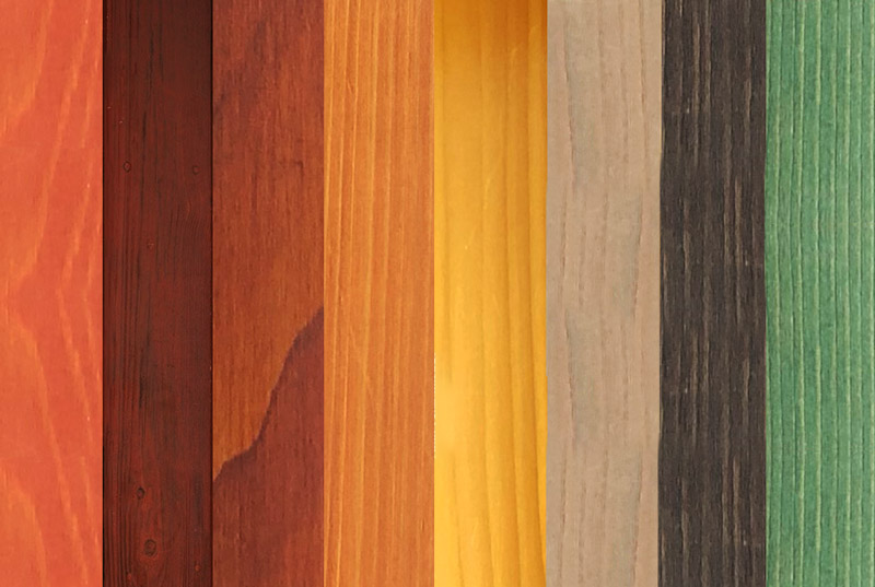 Deck stain colors