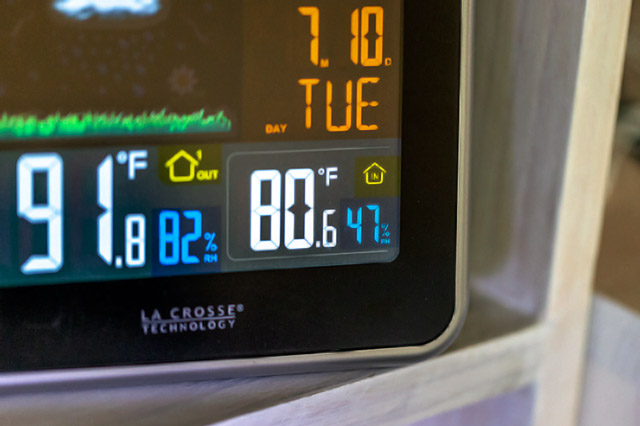 Humidity thermometer
