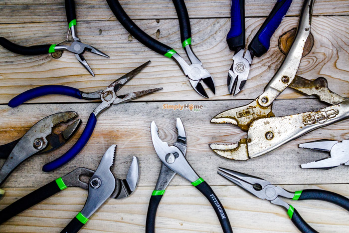 Veconor Various Types Professional Jewelers Pliers ... |Types Of Pliers
