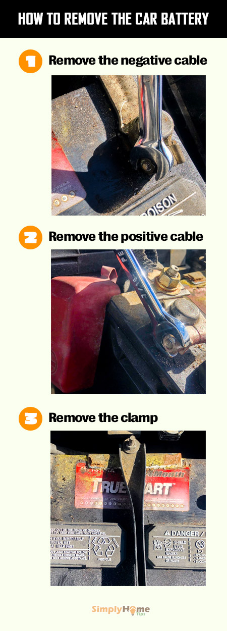 How to remove the car battery