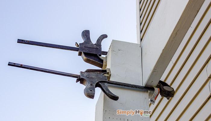 Installing beam