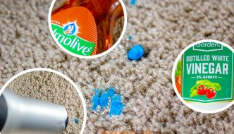 Ways to Blu Tack/Sticky Putty from Carpets