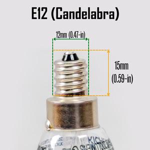 E12 Candelabra Base