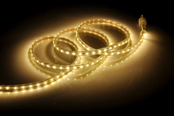 White LED strip light bulbs